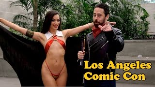 VIDEO: Fun Cosplayer Interviews from LA Comic Con