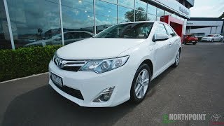 2013 TOYOTA CAMRY HYBRID REVIEW - Northpoint Toyota