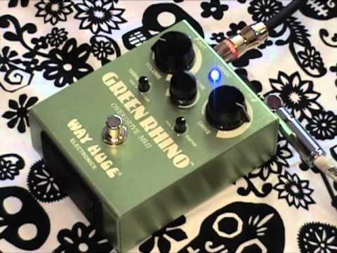 Gearmmandude Demos the Green Rhino