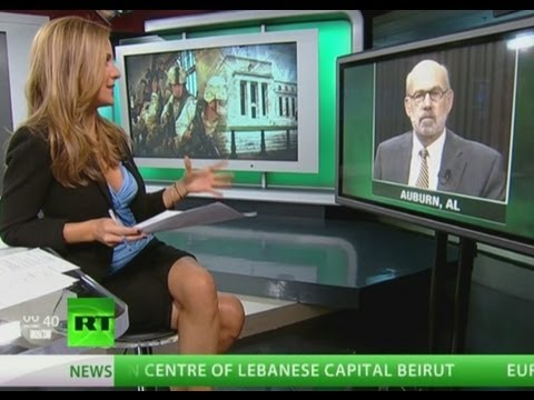 Lew Rockwell says the Federal Reserve Enables War