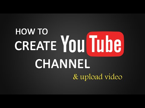 Watch 'How to Create channel on Youtube and upload videos?'