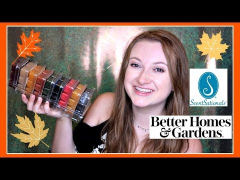 Walmart NEW Fall Wax Haul 2017 | Scentsationals, Better Homes & Gardens
