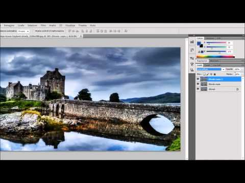 Adobe Photoshop CS5 Tutorial – HDR effect from one photo – DanyDroidTV