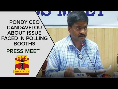 Puducherry-CEOs-Press-Meet-About-Voters-Turnout-Issue-Faced-in-Polling-Booths