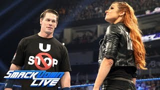 Becky Lynch calls out John Cena: SmackDown LIVE, Jan. 1, 2019
