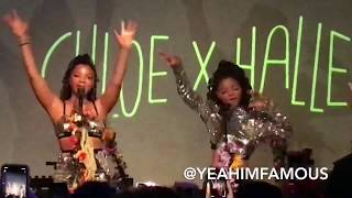 Video Chloe X Halle Live in Concert at SOBs in NYC 2018 MP3, 3GP, MP4, WEBM, AVI, FLV Agustus 2018