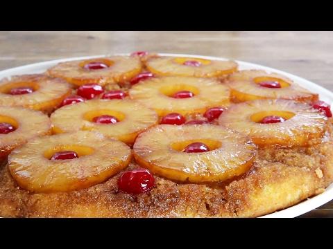 torta rovesciata all'ananas - ricetta