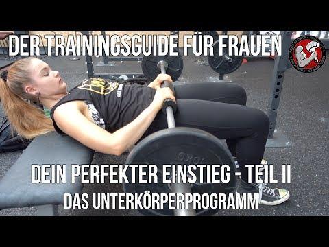 Einsteiger Trainingsguide für Frauen – Teil 2: Das Unterkörper-Training