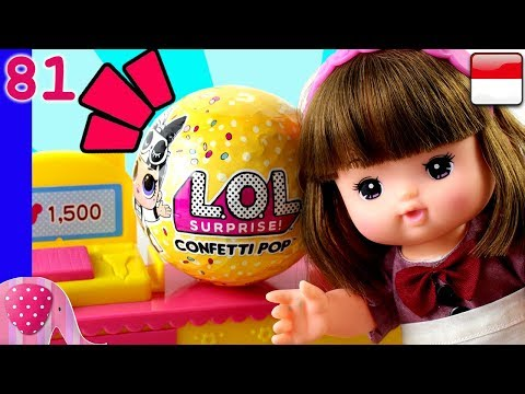 Yuka dapat LOL Confetti Pop Wave 2 - Mainan Boneka Eps 81 S1P10E81 GoDuplo TV
