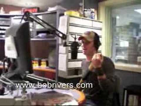 Comedian Josh Wolf in The Bob Rivers Show, March 28, 2008