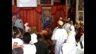 Drumming In The Ethiopian Orthodox Tewahedo Church Of The Archangel Gabriel