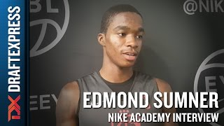 Edmond Sumner Interview from 2016 Nike Academy