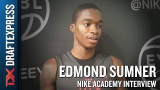 Edmond Sumner Interview from 2016 Nike Academy