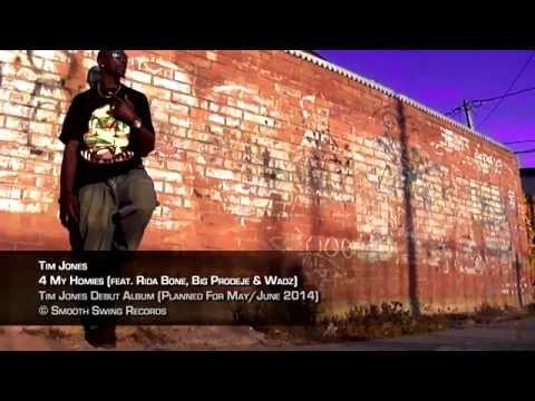 Tim Jones - 4 My Homies (feat. Rida Bone, Big Prodeje & Wadz) [ 2014 G-Funk ]