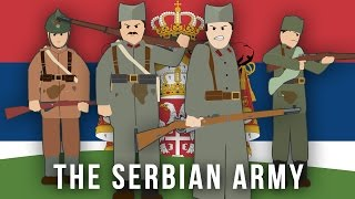 Faction: The Serbian Army The First World War In 1901, male Serbians aged between 21 and 46 were required for compulsory military service . By 1912 this ...
