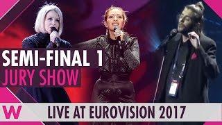 Video Eurovision 2017: Semi-Final One Jury Show (Reaction) MP3, 3GP, MP4, WEBM, AVI, FLV Juni 2017