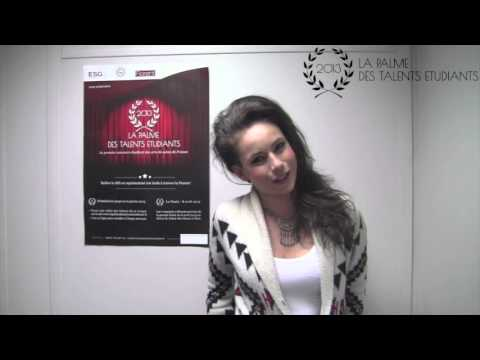 La Palme des Talent Etudiants - Jury n°8 - Juliette Marsault