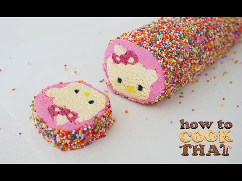 Hello Kitty Cookies How To Cook That Ann Reardon Harō Kiti (видео)