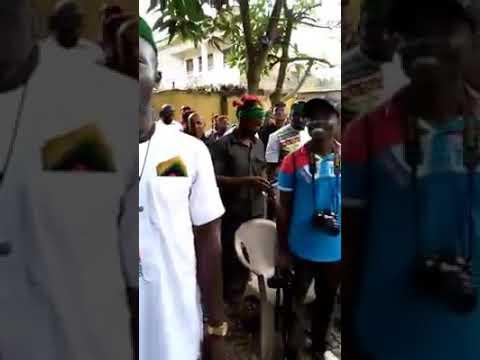The man in Abuja is not Buhari, his name is Jibril from Sudan - Nnamdi Kanu