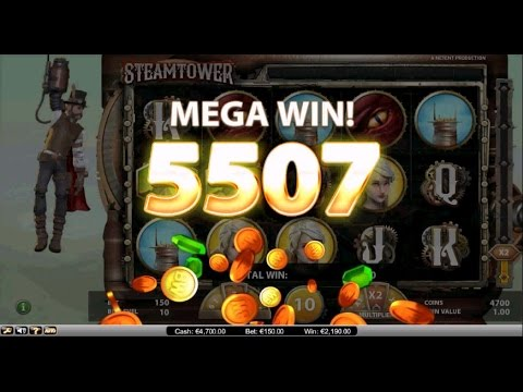 Steam Tower - SLOT MACHINE - FREE Spin MEGA Win
