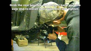 2. ATV / UTV Axle Removal / Install - Super ATV