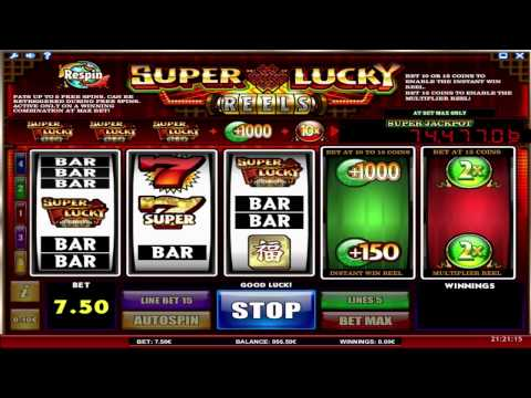 Super Lucky Reels™ online slot by iSoftBet video preview'