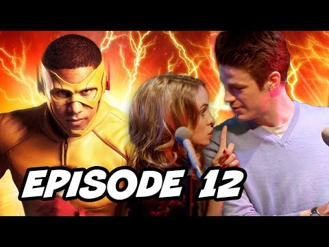 Legends of Tomorrow Season 3 Episode 12 The Flash - TOP 10 WTF and Easter Eggs