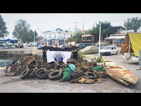 Μέγαρα: Δύτες αφαίρεσαν 750 κιλά σκουπίδια από το βυθό της Πάχης (vid)…