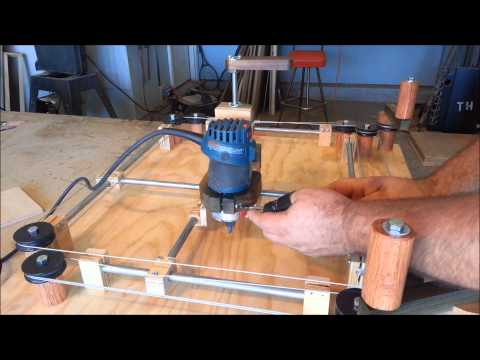 homemade - Building a shop made (Router Jig) that works like an Etch A Sketch, I built this 3 axis router jig to inspire my kids to spend more time in the shop. They lo...