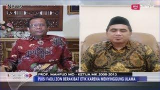 Video Tanggapan Mahfud MD Terkait Jerat Hukum soal Puisi Fadli Zon - iNews Sore 14/02 MP3, 3GP, MP4, WEBM, AVI, FLV Februari 2019