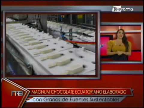 Magnun Chocolate ecuatoriano elaborado con granos de fuentes sustentables