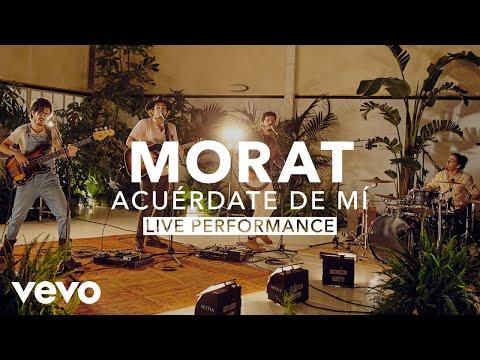 Morat - Acuérdate De Mí (Live)  Vevo X