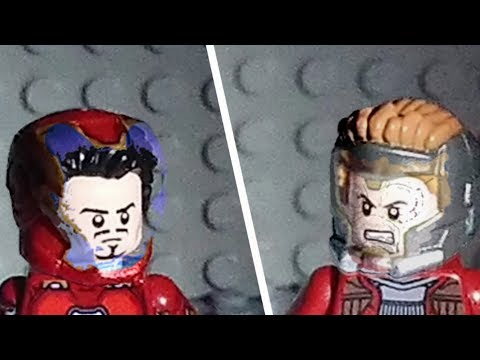 """Avengers Infinity War in lego #10 """"Iron Man and Star Lord"""""""