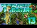 Minecraft: Modded Dinosaur Survival Let's Play w/Mitch! Ep. 13 - EVIL T-REX!