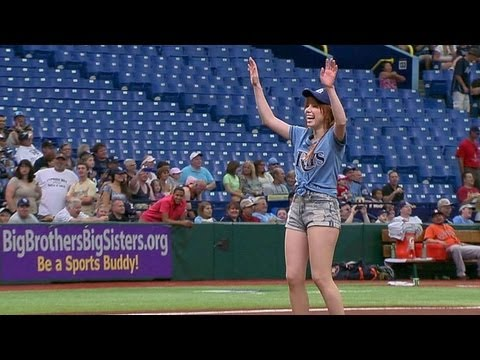 He's a hustler, not a damn ball player. (His words, obviously.) From Mariah Carey to Justin Bieber, see the worst celebrity first pitches.