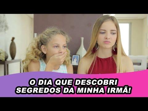 O DIA QUE DESCOBRI SEGREDOS DA MINHA IRMÃ!