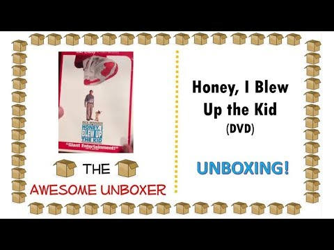 Honey, I Blew Up The Kid (DVD) Unboxing!