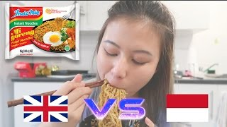 Video INDOMIE INDONESIA VS INDOMIE UK + CHALLENGE DADAKAN #TRYITWITHDEE MP3, 3GP, MP4, WEBM, AVI, FLV Februari 2018