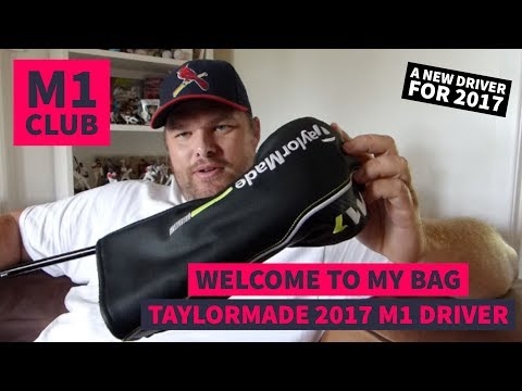 My 2017 Taylormade M1 Driver - The first Custom Fit driver in my LIFE!