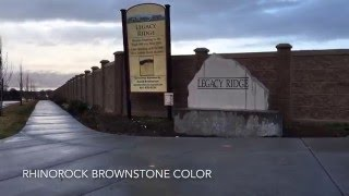 Rhinorock Brownstone Color