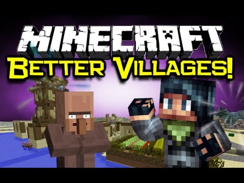 village - CAN WE GET OVER 7000 LIKES? :O* Please leave a LIKE and SUB HERE! → http://bit.ly/1aYuUA3 Hello! Welcome to a look at the awesome Minecraft Village-Up Mod! An NPC village upgrader, with...