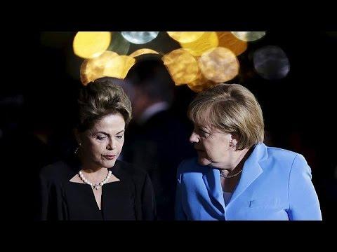 Βραζιλία: Επίσημη επίσκεψη της Άνγκελα Μέρκελ
