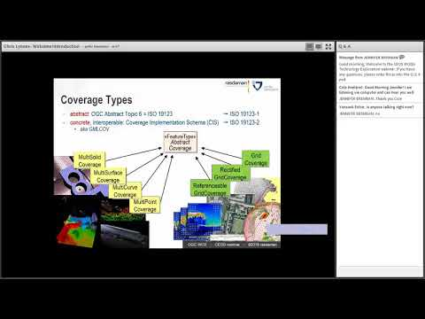 CEOS WGISS Technology Exploration Webinar: The OGC Coverage Standards Suite