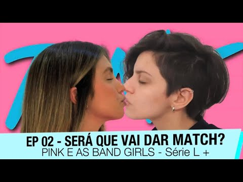 BAND GIRLS - EP.02 - PINK AMOR DE VERÃO   SÉRIE LGBT   AMAR   BEIJAR (Subtitled in English)