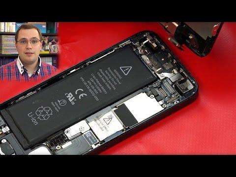 Apple iPhone 5 Akku und Hörmuschel / Lautsprecher tauschen