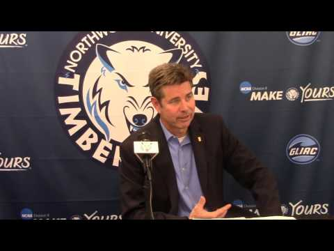 Northwood University Men's Basketball (1/21/16) Ferris State 83, NU 76 - Press Conference