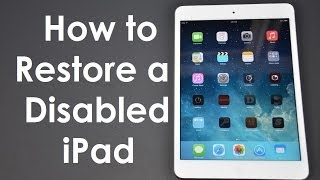 How to Fix (Forgot Passcode) Disabled iPhone / iPad iOS 12 iOS 11 iOS 10 iOS9
