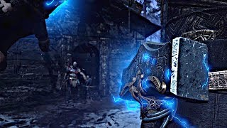 God of War 4 - Ending + Secret Ending THOR Appears (God of War 2018) PS4 Pro