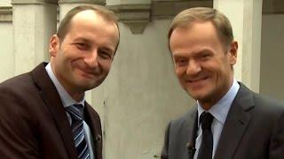 Ostatnie posiedzenie rządu – Donald Tusk i Robert Górski