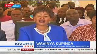 Wavinya Ndeti asema ako tayari kwenda kortini kupinga uapishwaji wa gavana Alfred Mutua SUBSCRIBE to our YouTube...